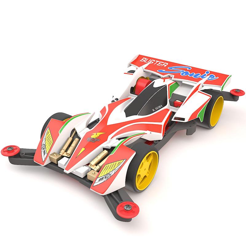 3D tamiya aero chassis