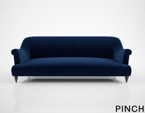 3D pinch goddard sofa model