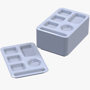 meal tray 3D model