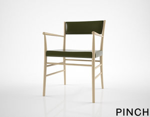 3D pinch avery armchair model
