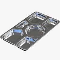 3D meal tray v2