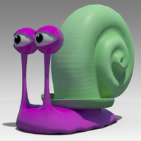 snail toon animations 3D