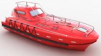 3D life boat