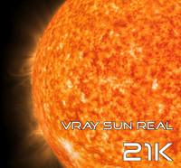 Vray Sun Real 21K