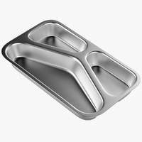 meal tray v3 3D model