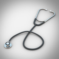 stethoscope 3D