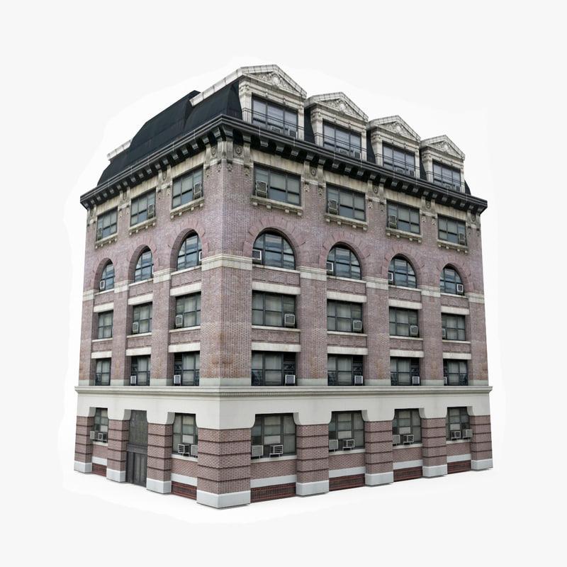 3D model european building games
