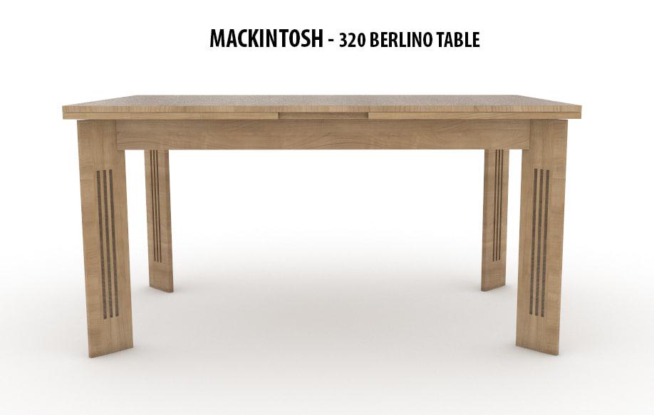 3D 320 berlino table