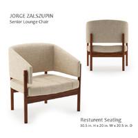 3D jorge zalszupin-seneior lounge chair
