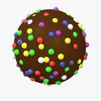 3D model sparkle bomb