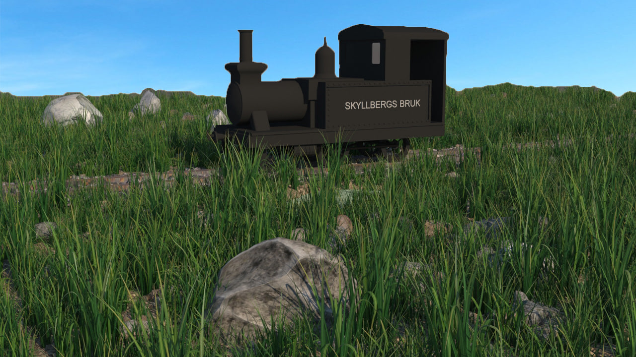 skyllbergs bruk 3D model