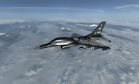 3D e plane airplane model