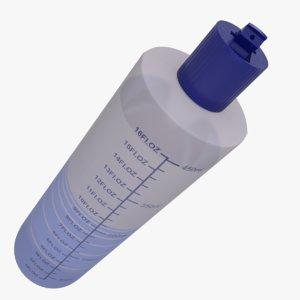 squeeze bottle water model