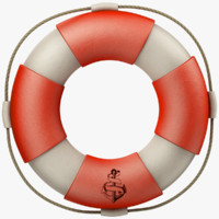 3D model lifebuoy life buoy