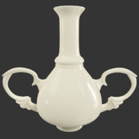 3D antique vase
