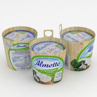 3D almette spinach garlic 150g