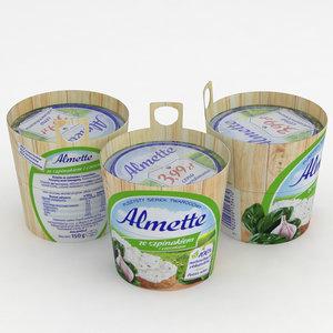 3D almette spinach garlic 150g