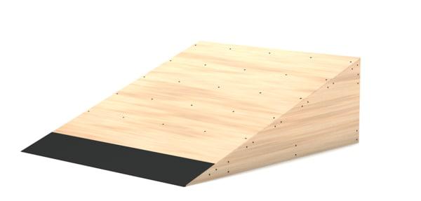 kicker ramp 3D model