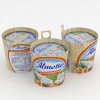 almette chives onion 150g 3D model