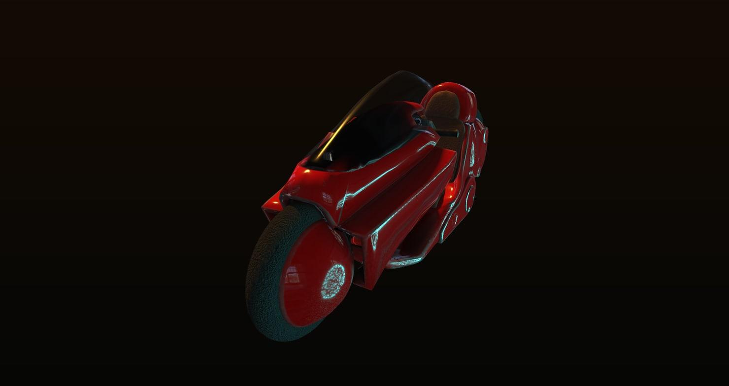 akira motorbike model