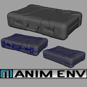 3D briefcase