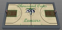 court thousand oaks lancers 3D model