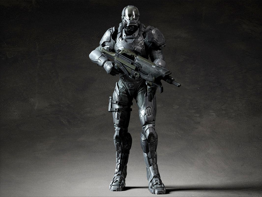 armor weapon 3D model