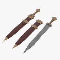 roman sword model