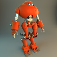 3D animation model