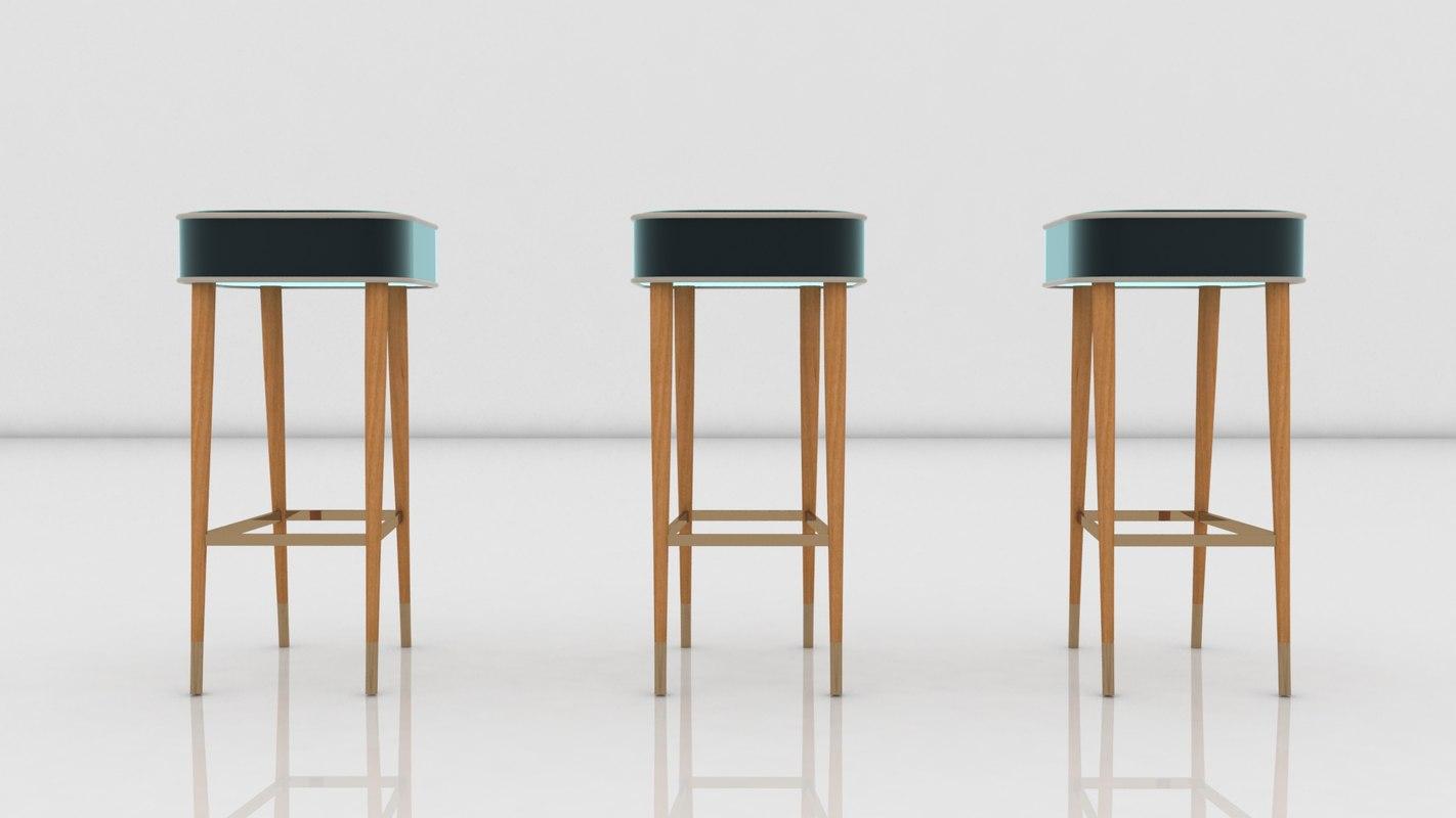 3D elegant chair model