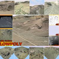 desert scene mt041 model