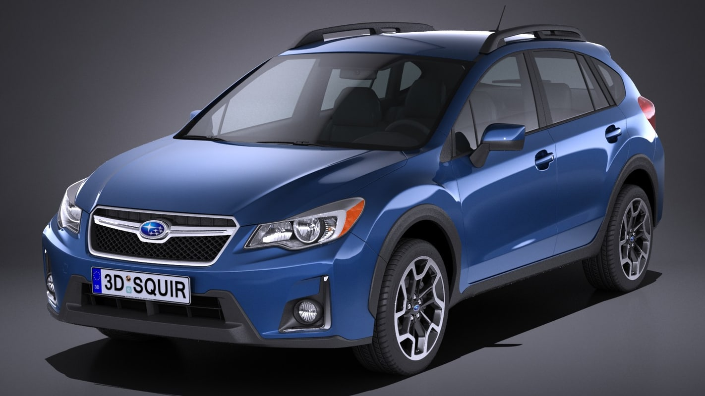 3D subaru crosstrack 2018