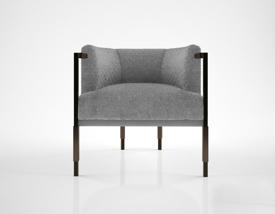 Kelly Wearstler Larchmont Chair Model