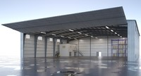 Aircraft Hangar Warehouse