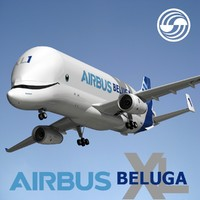 airbus beluga xl 3D model