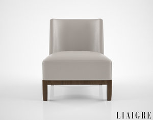 christian liaigre mandarin chair 3D