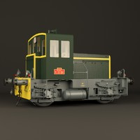 3D french locomotive