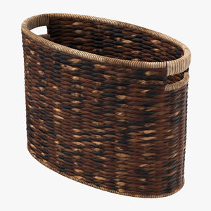 magazine basket 01 3D model