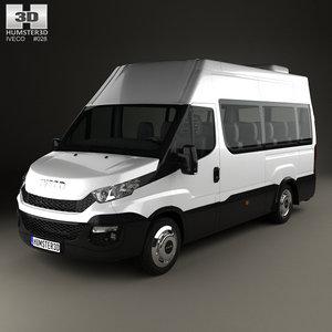 iveco daily minibus 3D