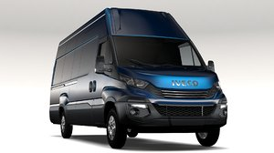 iveco daily l4h3 2017 3D model