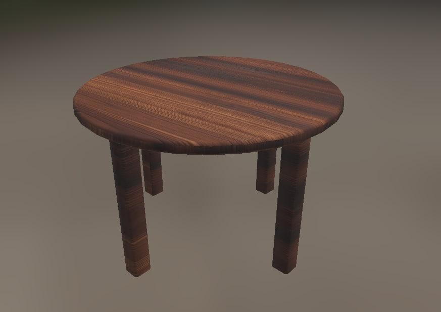 table model