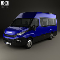 iveco daily 2014 3D model