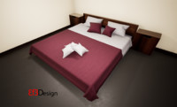 Ethnic Bed (UE4)
