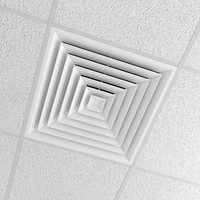 Office Ceiling with cond