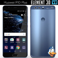 huawei p10 element 3D model