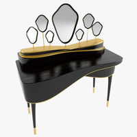 3D dressing table amelie
