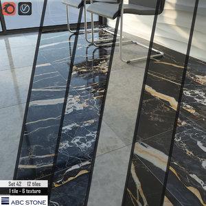 3D model floor wall