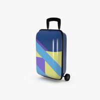suitcase toy 3D