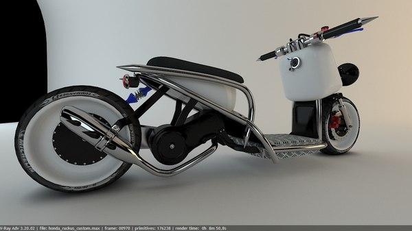 ruckus custom model