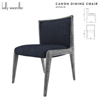 canon dining chair kelly 3D model